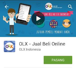 OLX Aplikasi Android Wajib Bagi Pebisnis Online