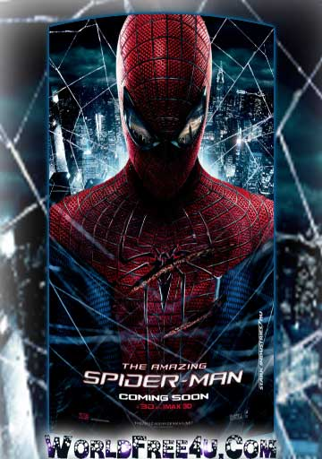 Poster Of The Amazing Spider-Man (2012) Full Movie Hindi Dubbed Free Download Watch Online At worldfree4u.com