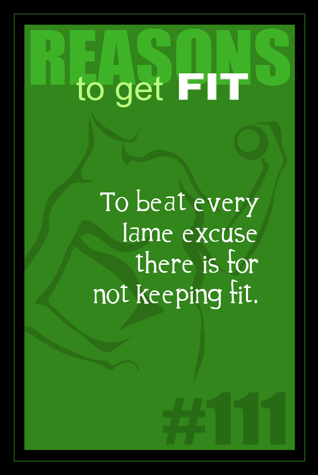 365 Reasons to Get Fit #111