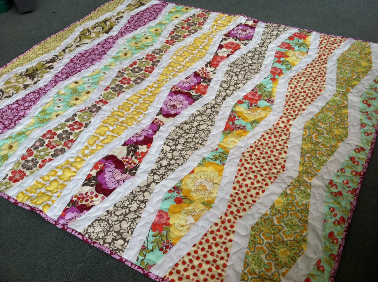 New Wave Quilt - Quilting In The Rain