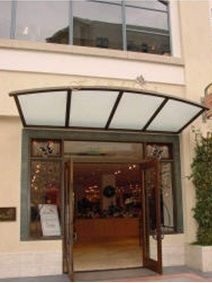 Shower doors of usa glass awnings sandblasted glass and metal awning planetlyrics