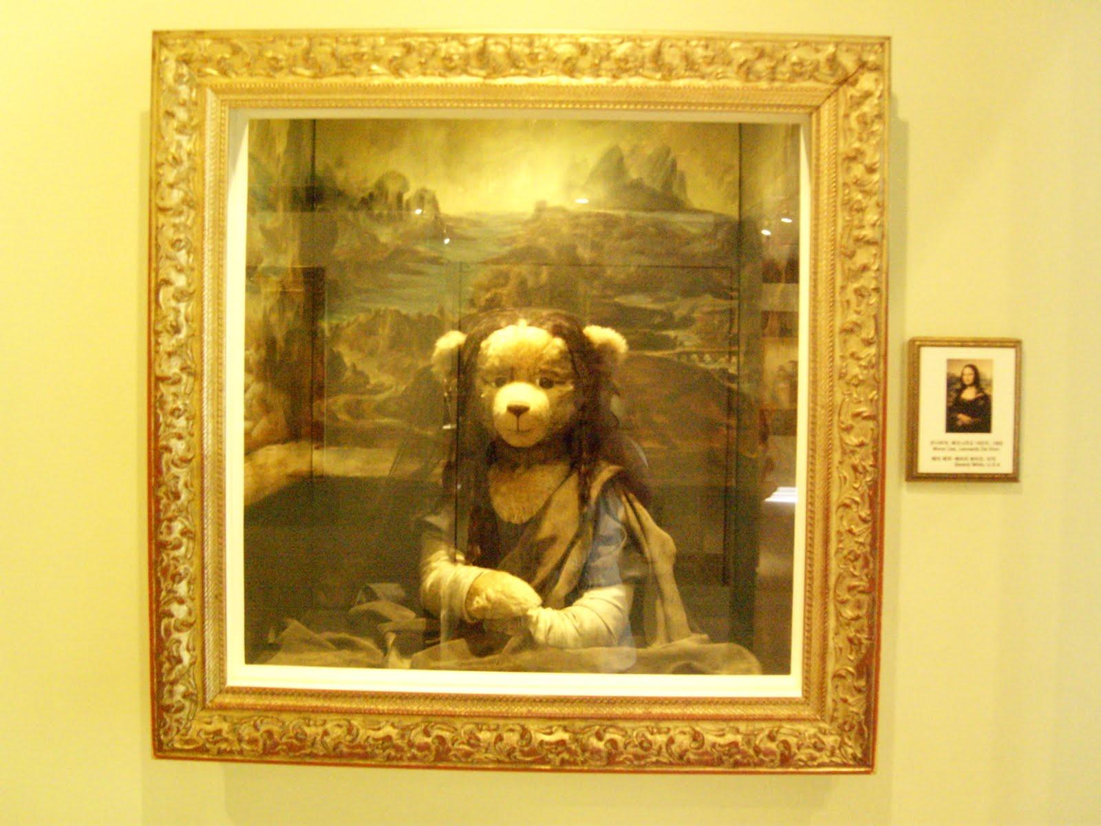 Teddy Bears In Jeju Do South Korea Koreabridge Canon Eos Couple Teddies Bear Mona Lisa