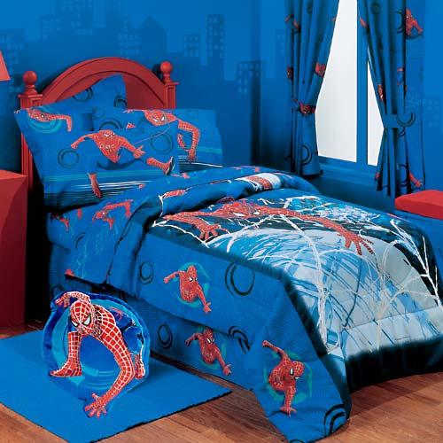 des chambres coucher pour petit enfant spider man b b et d coration chambre b b sant. Black Bedroom Furniture Sets. Home Design Ideas