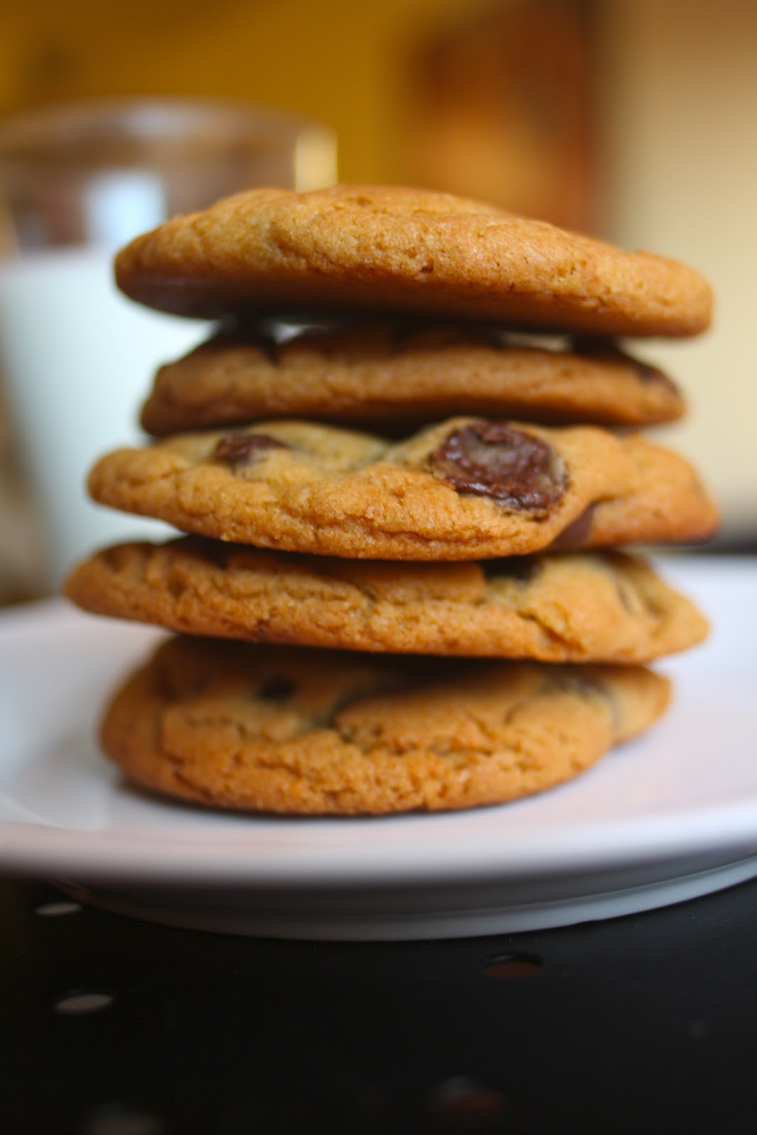 Goodness Gracious: Thick & Chewy Molasses Chocolate Chip Cookies