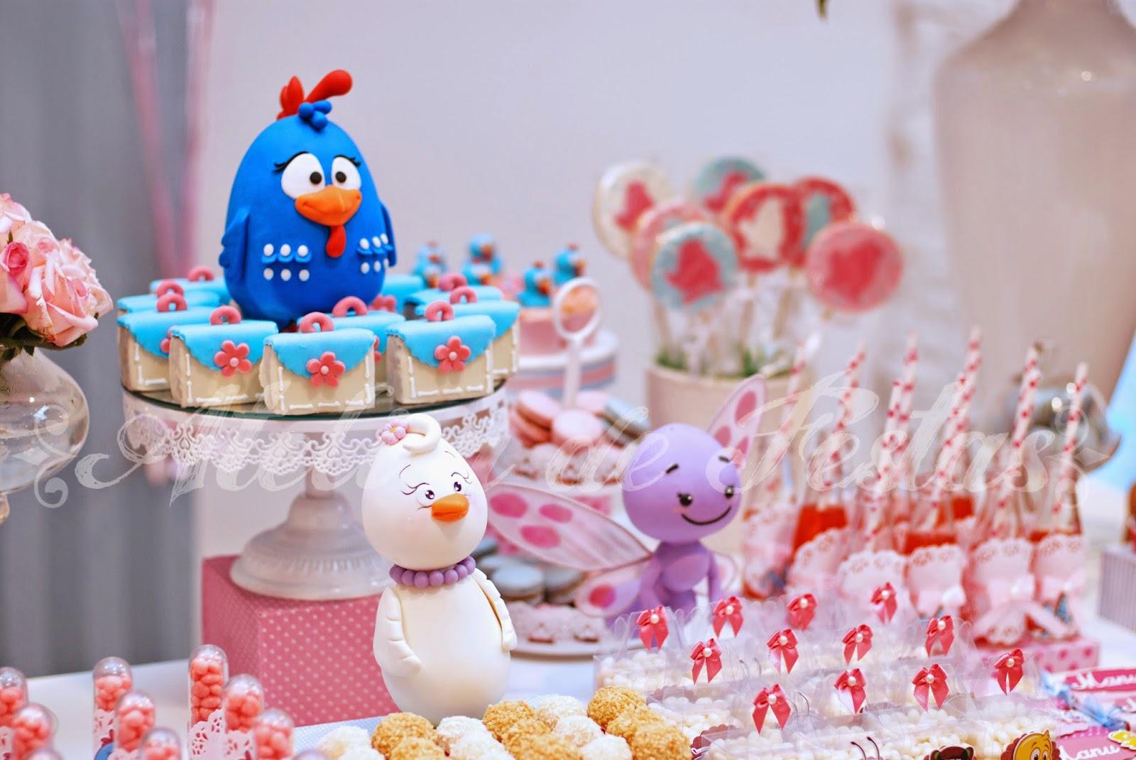decoracao festa galinha pintadinha rosa:Atelier de Festas: Festa Galinha Pintadinha – Rosa