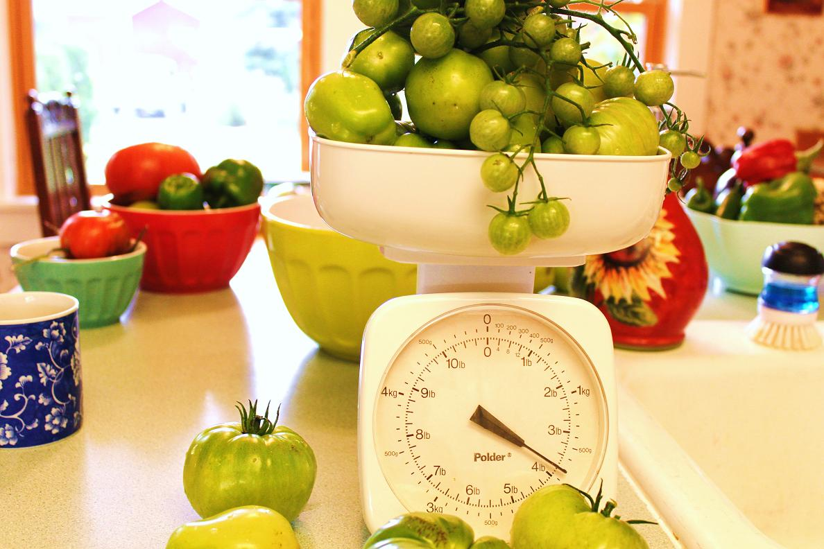 Feathering My Nest: Green Tomato Apple Chutney: Recipe From Kerin