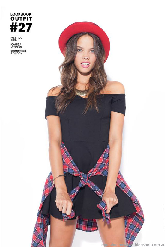 Ropa de moda marcas mas populares de Argentina. 47 Street otoño invierno 2014.