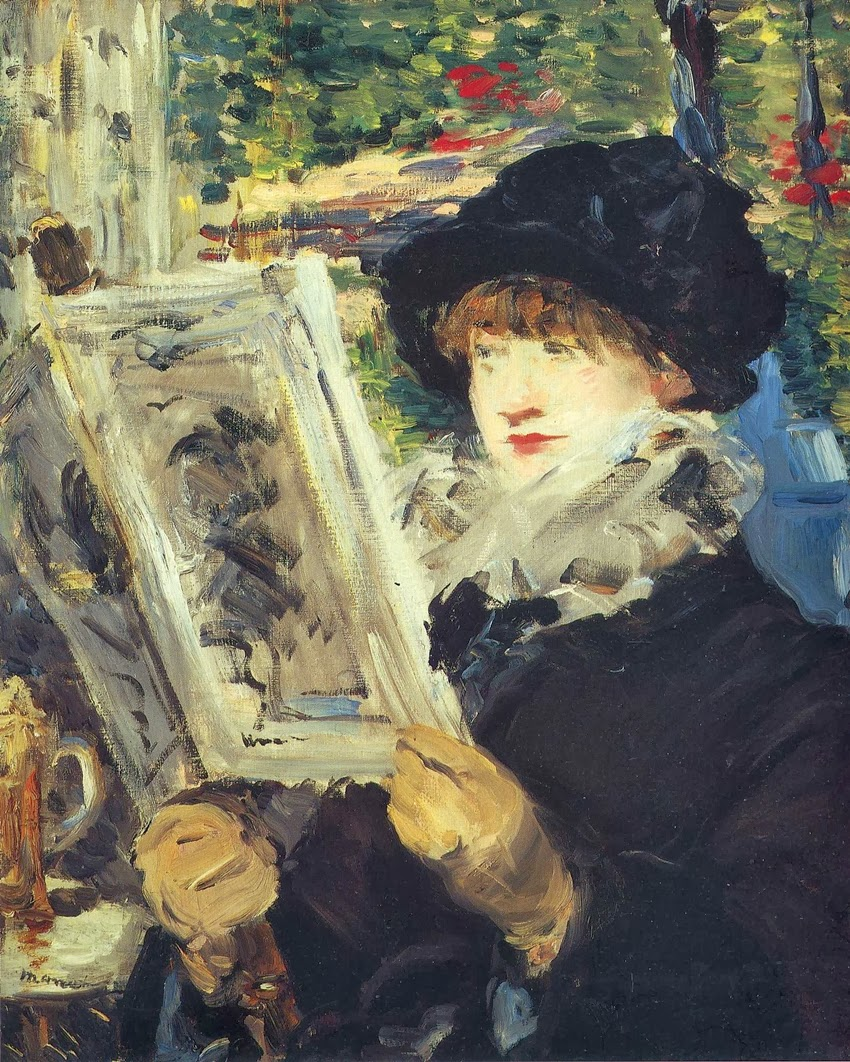 Édouard Manet - Woman Reading, 1880