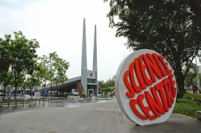 pintu masuk, singapura, pusat sains, ilmu pengetahuan