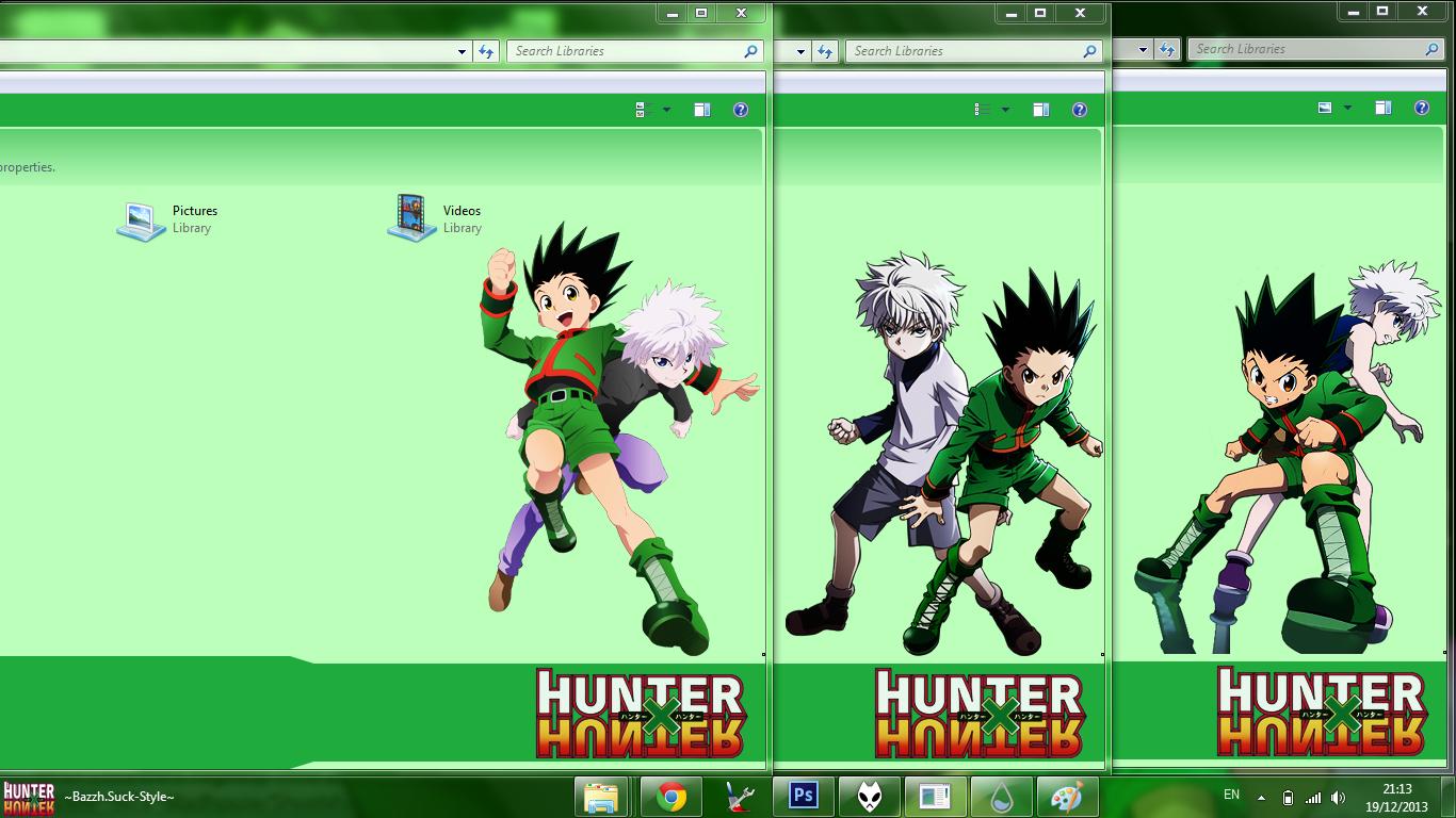 Google chrome themes hunter x hunter - Other Screenshoot Hallo I Make Hunter X Hunter Theme