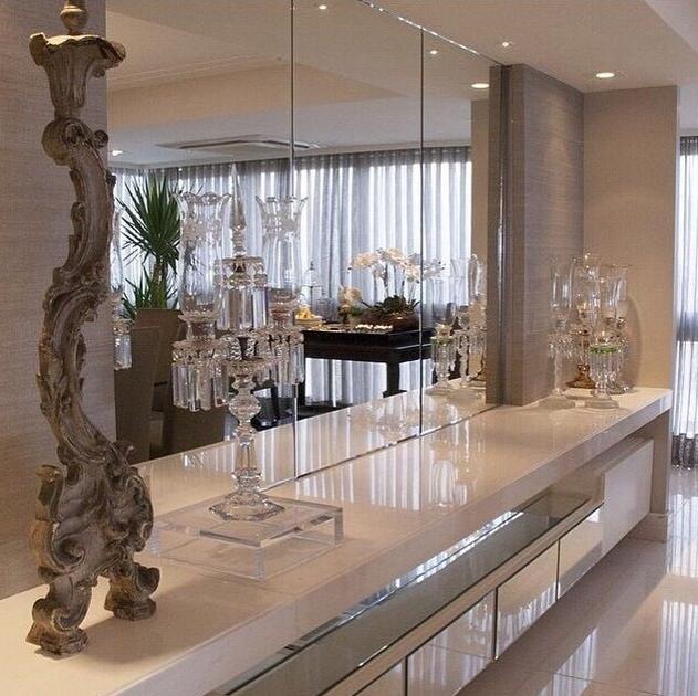 decoracao banheiro clean: Minha Casa Clean: Casa Montada! Decoração Moderna e Clean