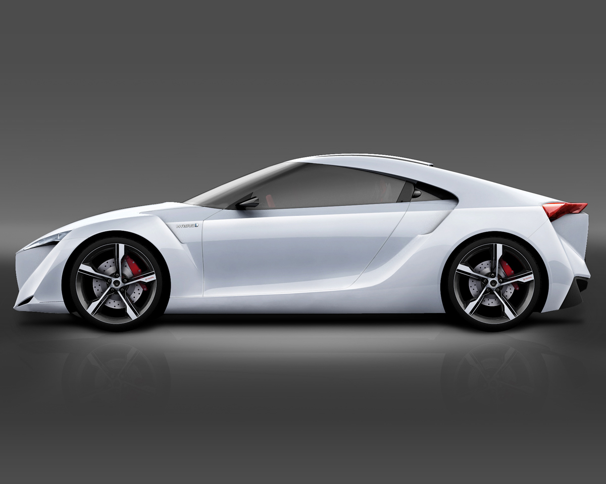 Toyota Supra Concept 2017 >> El Toyota FT-HS Hybrid Sports concepto de coche deportivo ~ Blog de Autos