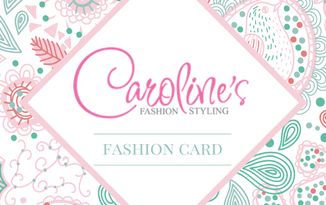 REGISTER for Caroline's Fashion Card