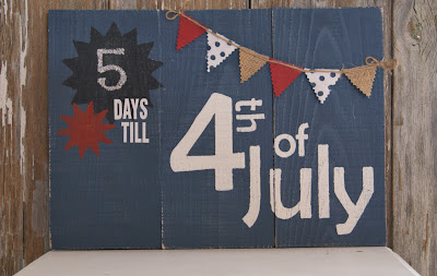 4th of July sign countdown