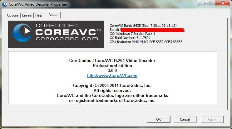 Coreavc professional v1 6 6 0 incl keymaker