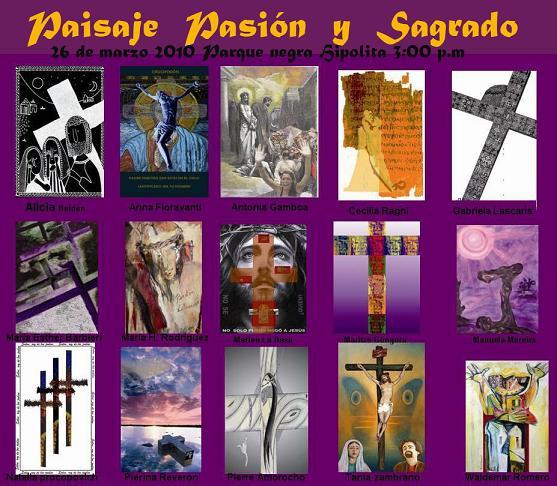 Paisaje pasión y Sagrado 2010