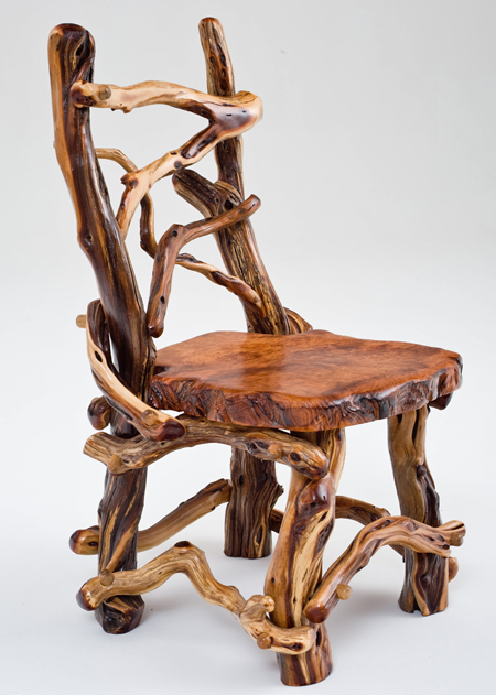 C StyleDesign Earth Month Rustic Home Decor : Chair RedwoodampManzanita from cstyledesign.blogspot.com size 450 x 631 jpeg 204kB