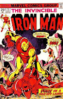 Iron Man #73 comic cover