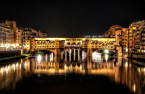 Ponte Vecchio, Florence, Italy by Nikola Lazarevic
