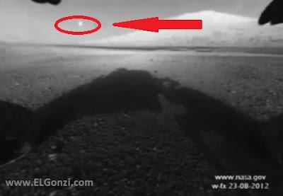 ovni en marte captado por curiosity octubre 2012