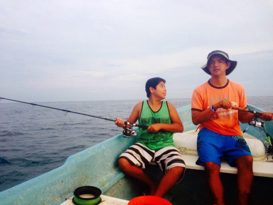 Fishing sayulita kids always have a good time too for Is today a good day to go fishing