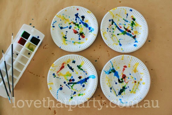 diy, art party, party ideas, kids parties, how to, tutorial