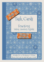 http://www.teacherspayteachers.com/Product/Math-Fraction-Task-Cards-Halves-Quarters-Eighths-Christmas-Winter-Theme-986611