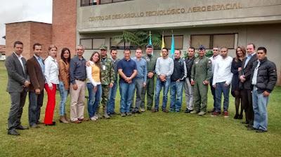 En las instalaciones del Centro de Desarrollo Tecnológico Aeroespacial para la Defensa – CETAD del Comando Aéreo de Combate No.5 se realizó el acta oficial para la conformación y estructuración del Clúster Aeroespacial Colombiano