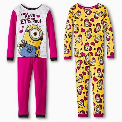minion sleep-set pyjamas