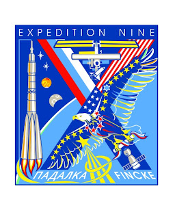 ISS Expedition 9 Mission Patch Insignia