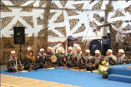 Prajurit TNI Indobatt Peringati Maulid Nabi Muhammad SAW di Lebanon Selatan