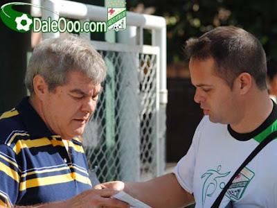 Oriente Petrolero - Miguel Angel Choco Antelo - Marco Ramacciotti - Club Oriente Petrolero