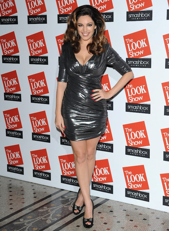 Kelly Brook attends The Look Fashion Show 2012 in London