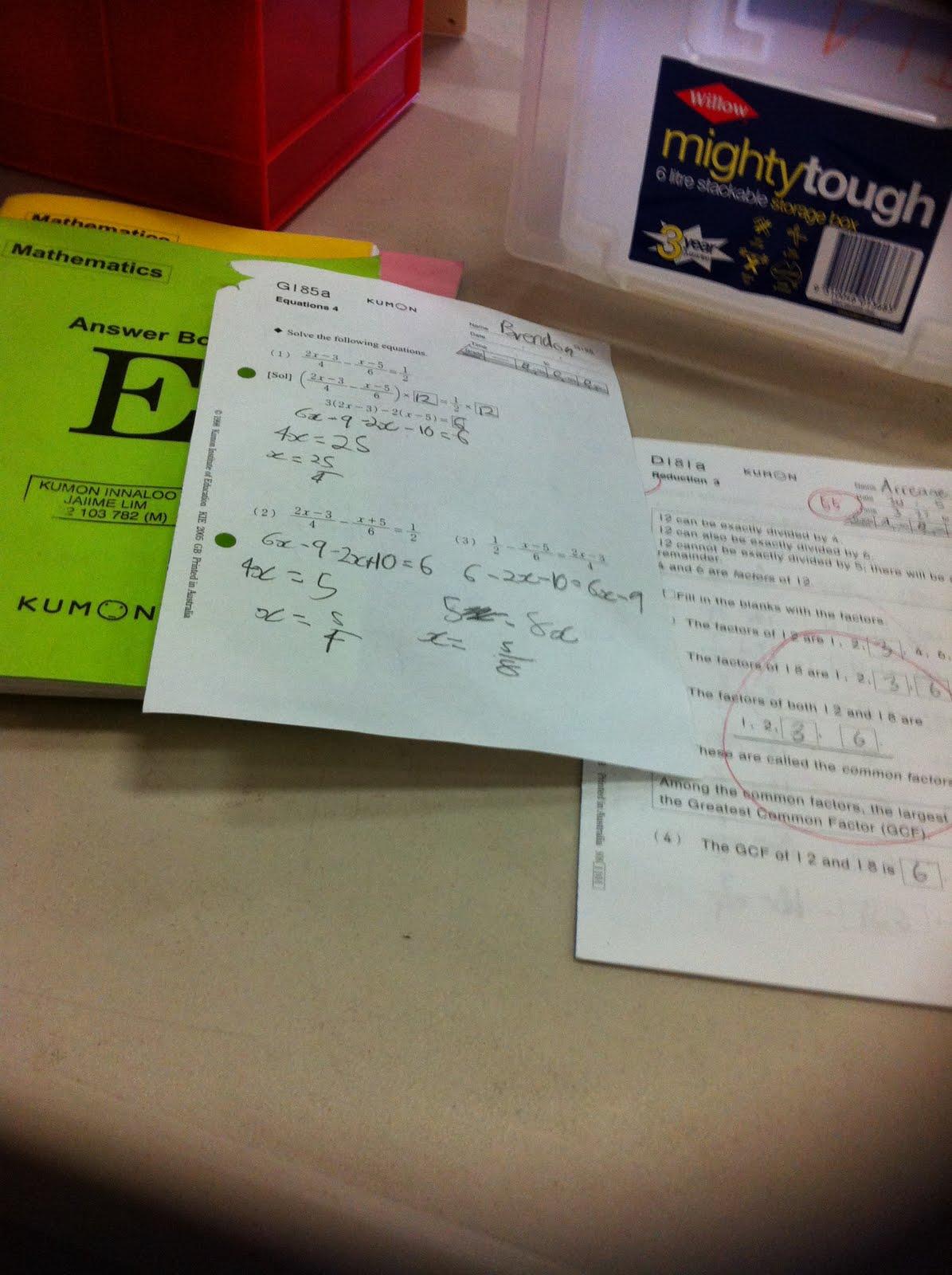 Amazing Kumon Papers Ideas - Worksheet Math Ideas - ceba.info