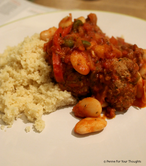 Meatball & Butterbean Stew