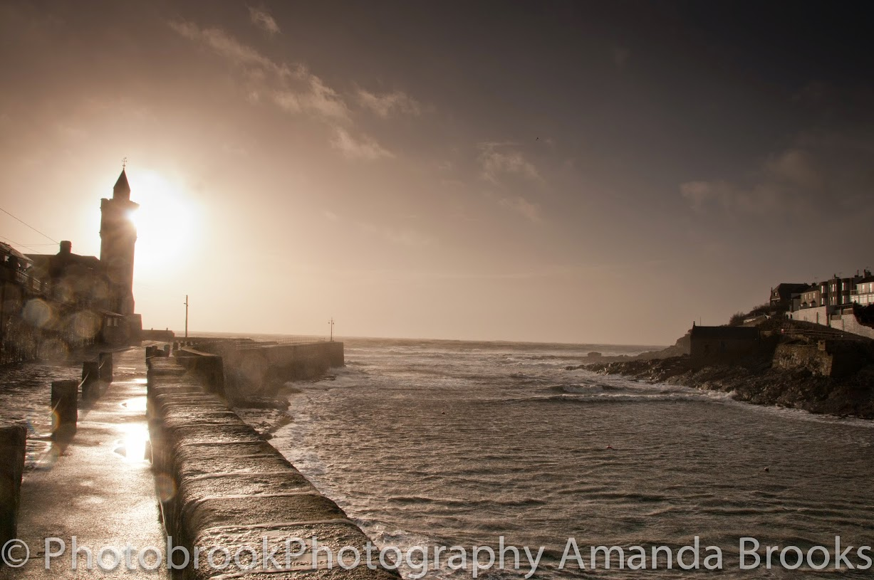 Porthleven storms 2014