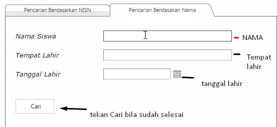 Cara Mencari NISN lewat Internet