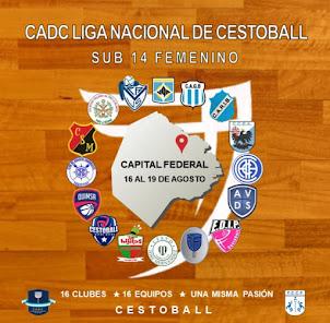 CADC LIGA NACIONAL SUB 14