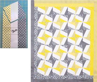 BasiX Template - Quilting Template - Bonus Pattern - Three Strip Quilt