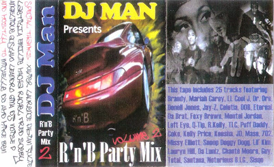 DJ Man - RnB Party Mix Volume 2