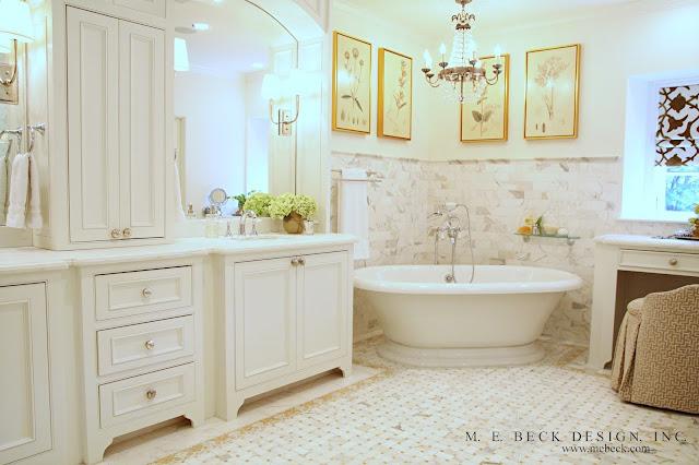 Live Beautifully S Renovation The Master Bath - 1920s bathroom vanity