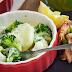 Potatoes and Broccoli with Cheese