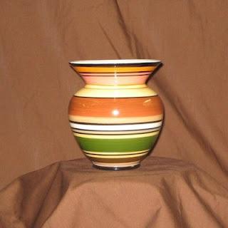 Buy a Ceramic Harvest Stripes Vase