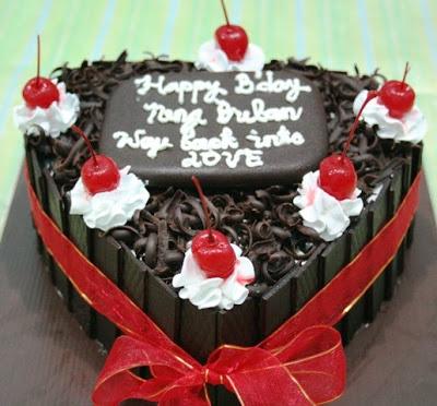 Aneka Resep Kue Black Forest Ulang Tahun
