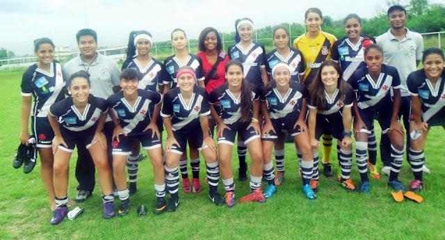 Feminino  Vasco estreou na Taça Cidade de Nova Iguaçu com uma vitória e  dois empates 6d4684780fe1e