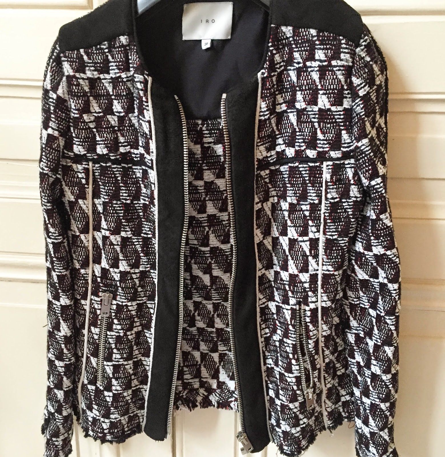 Iro jacket, giveaway, contest, fashion blogger, iro