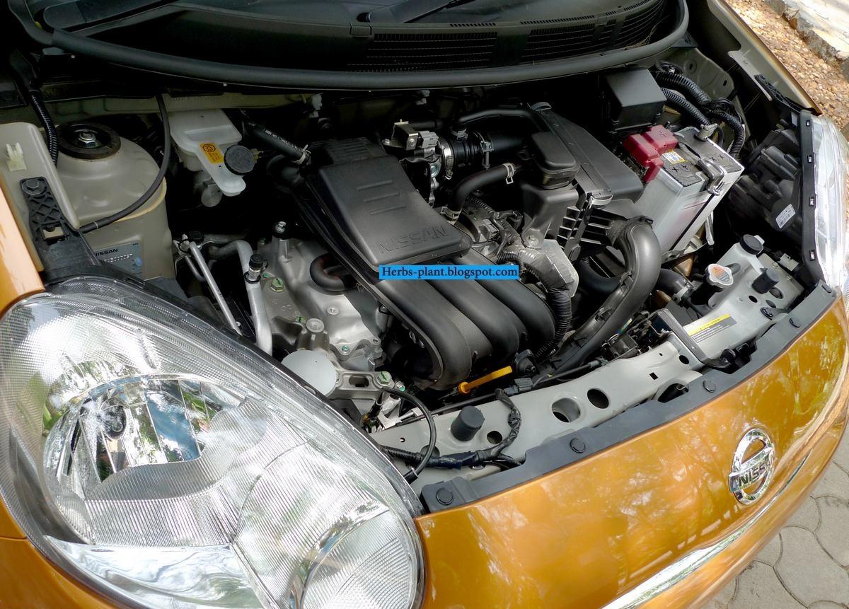 Nissan march car 2013 engine - صور محرك سيارة نيسان مارش 2013
