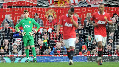 Manchester United 2 - 3 Blackburn Rovers (3)