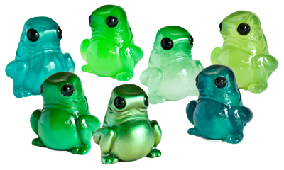The Green Series Resin Figures by Dead Hand Toys
