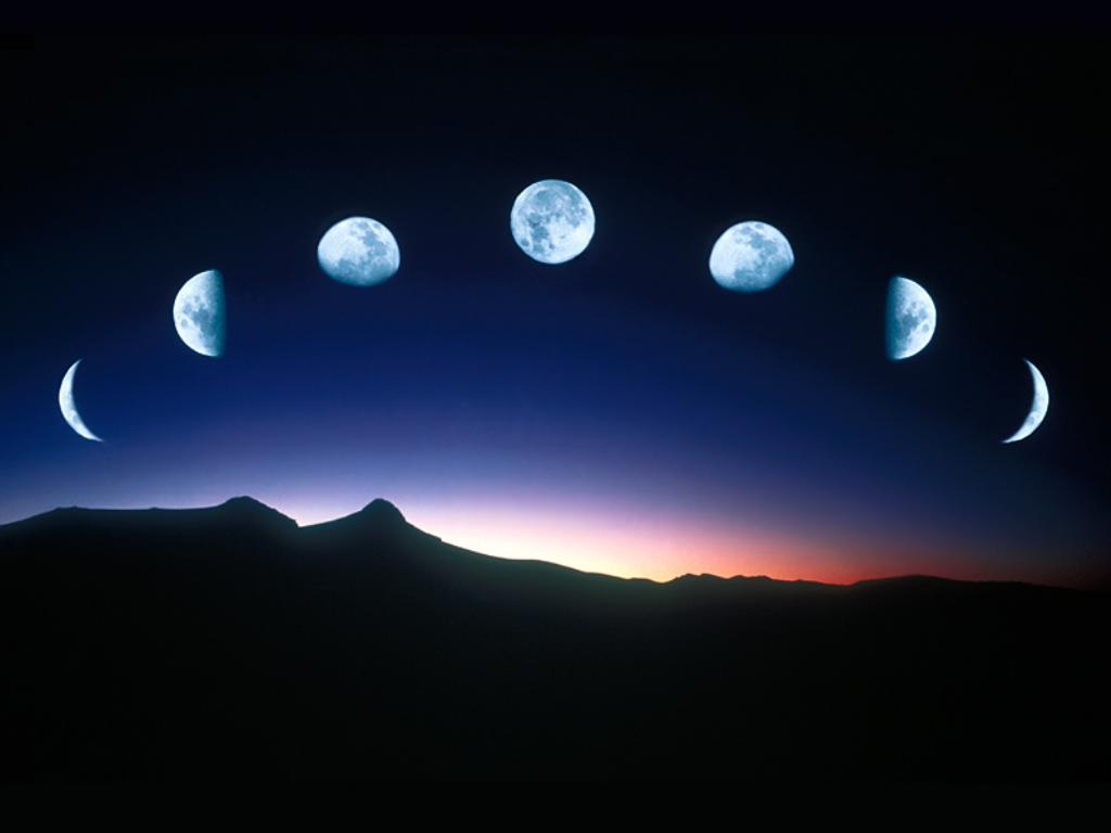 efecto de la luna sobre la tierra